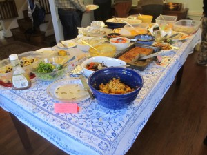 Beginning the Year Mindfully: New Year's Day Brunch