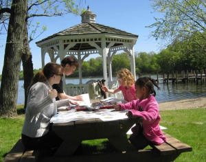 Go as A River, Creating Peace Together  —  Still Water Mindful Family Retreat