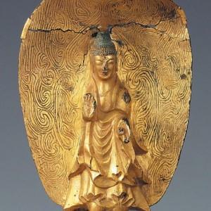 Buddha statue generosity mudra (1)