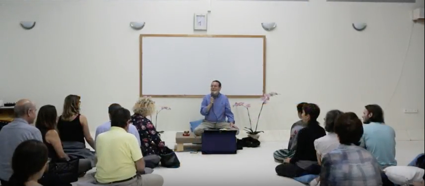 A Calm Mind and A Peaceful Heart: An Introduction to Mindfulness Practice, at the Broshim (Cypresses) Campus of the University of Tel Aviv.