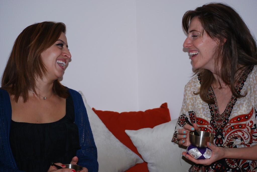 Eilda and Nimala, founders of Beit Ashams